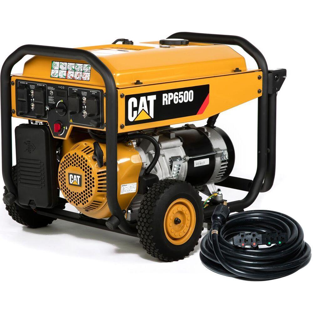 CAT RP6500 6500 Watt Portable Generator w/ CO DEFENSE