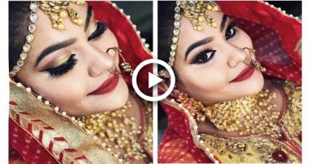 Indian Bridal Makeup Tutorial stepbystep 2018