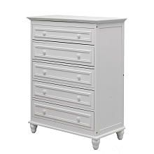 Dream on Me Del Ray 5-Drawer Dresser - White 47.0 x 37.0 x 19.0 $300 ***more in my price range, 228.00 on Amazon - good reviews although wider***