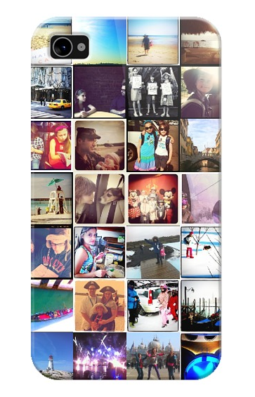 make an iphone cover with your Instagram photos on casetagram