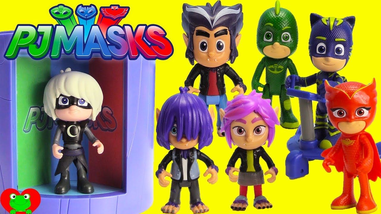 PJ Masks New Villains Wolfy Kids Howler, Rip, and Kevin ...