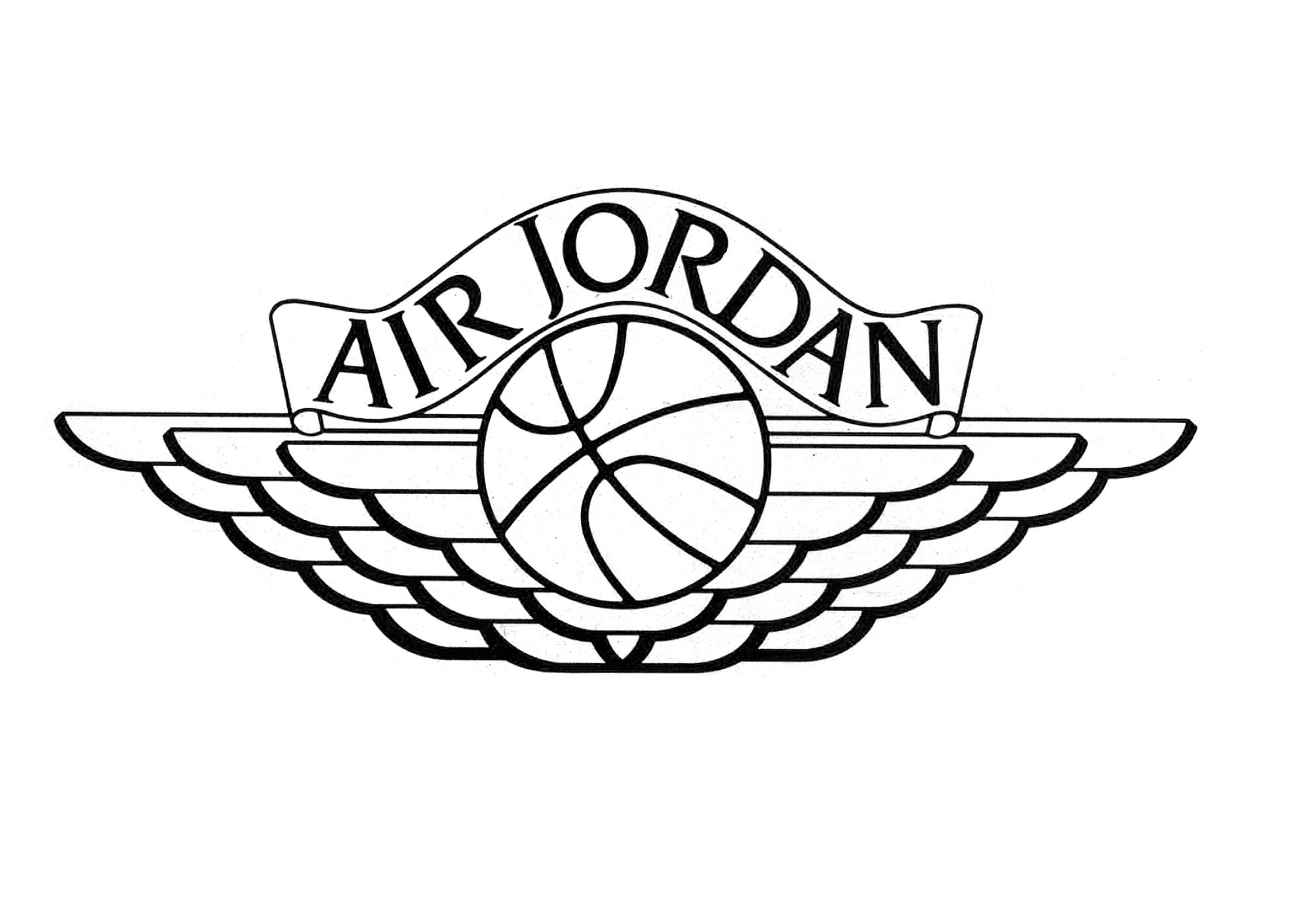 air jordan first logo