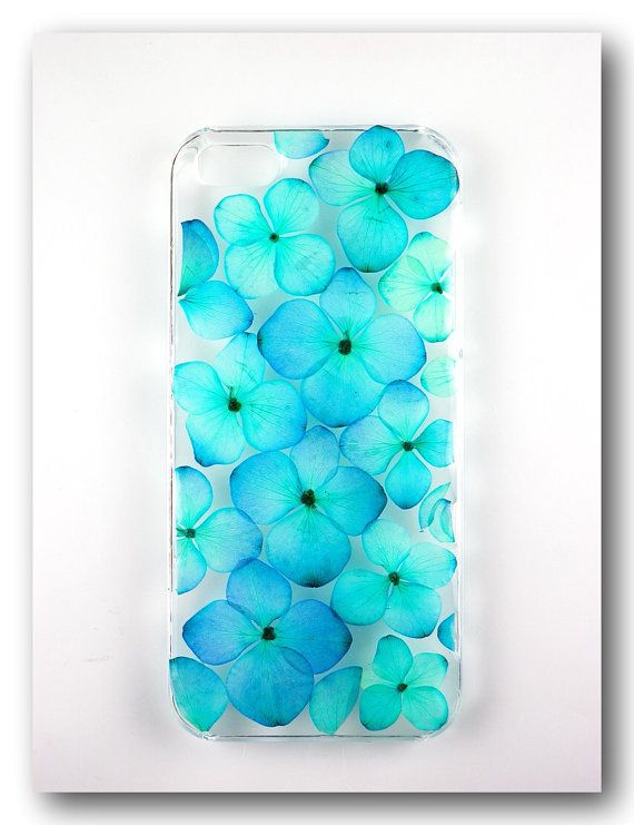 Handmade Iphone 5 5s Case Resin With Dried By Annysworkshop