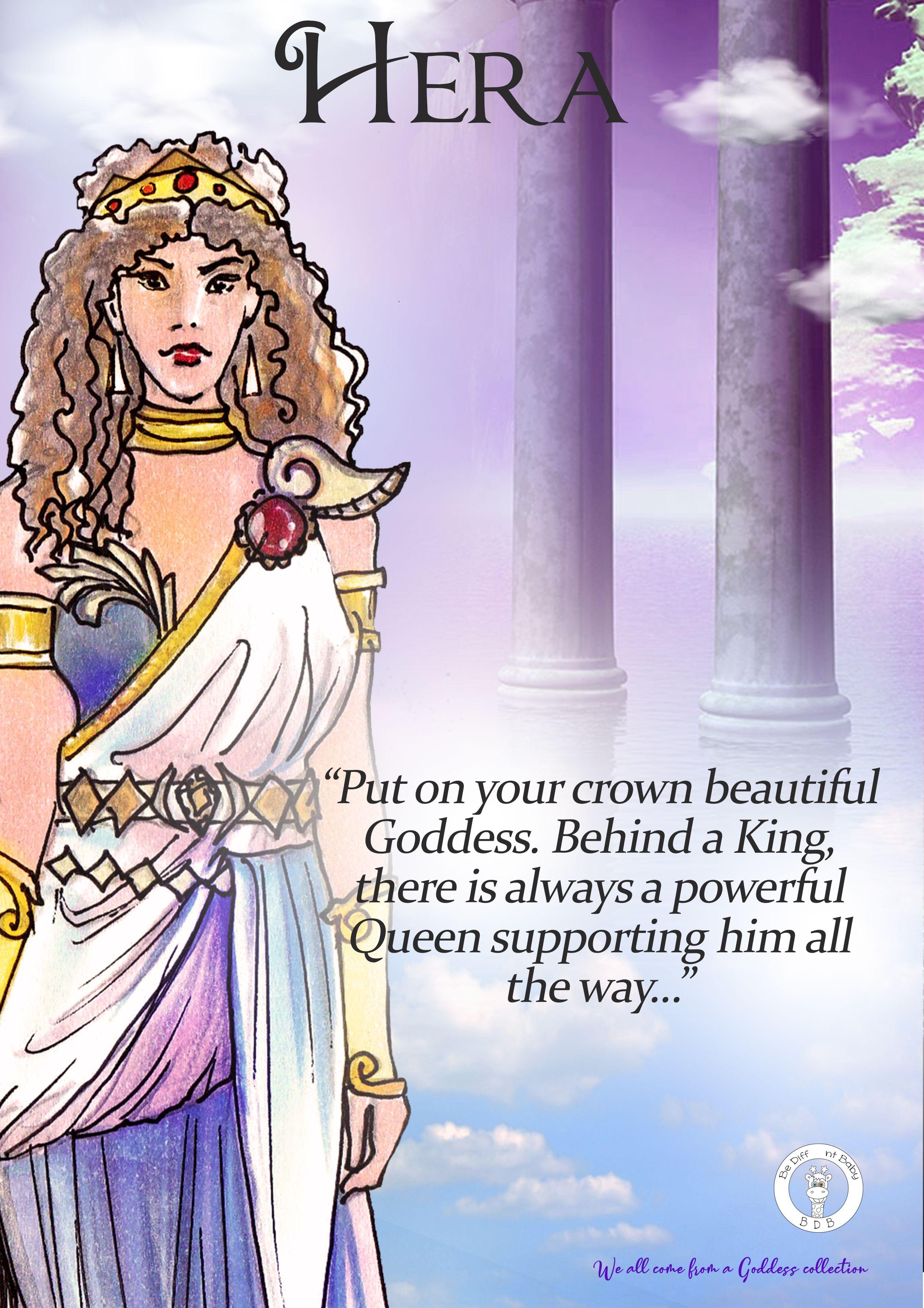 Hera Print Greek Greek Goddess Of Marriage A4 A5 Files