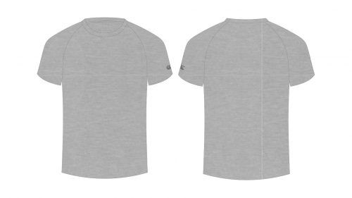 Blank Tshirt Template For Classroom In Gray Color Shirt Template