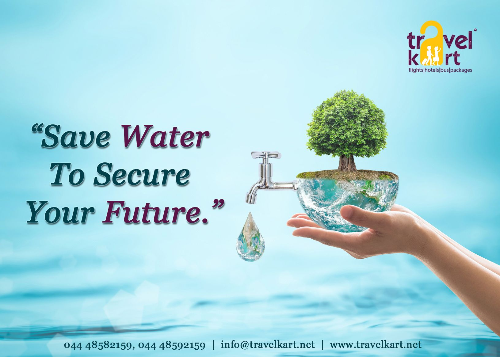 save water to secure your future