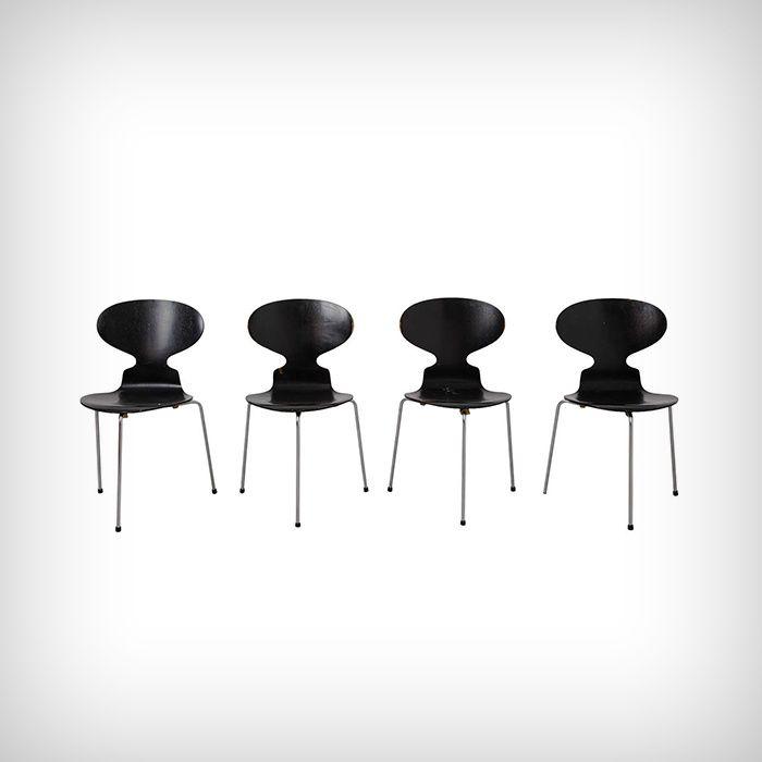 Arne Jacobsen Ad Magazine Single Chair Interior Decorating Design