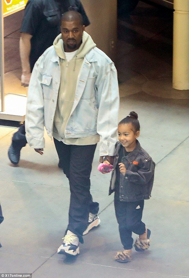 Kanye West Treats His Daughter North To A Movie Screening Kanye West Outfits Kanye West Style Kanye Fashion