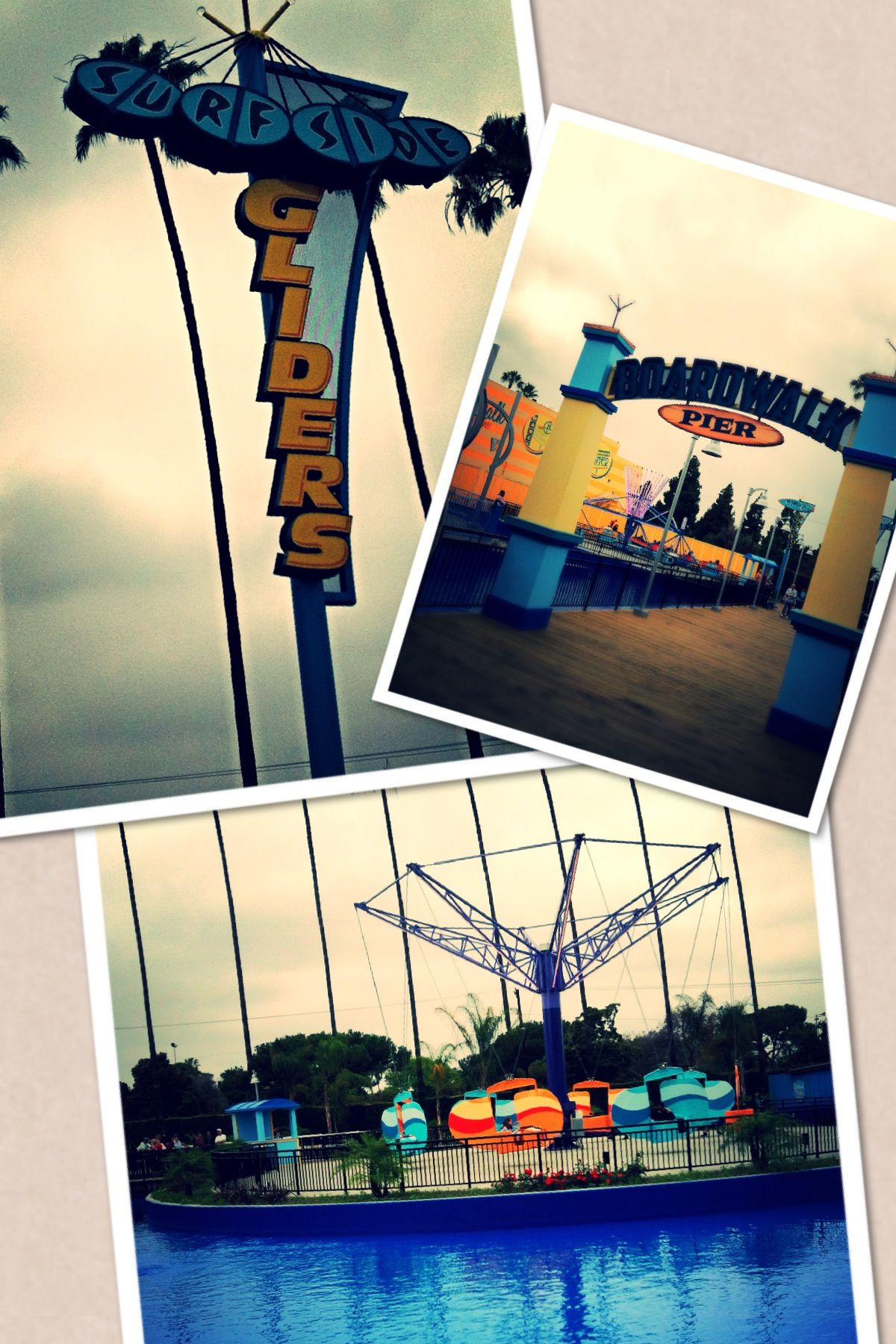 #KnottsBoardwalk ride Surfside Gliders use this ride to teach your kids science