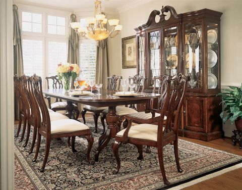 Image of Dining Table with Eight Chairs Dining Rooms Pinterest