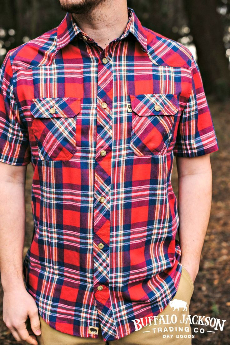 845572c3afc Durango Shirt | Red Falls | Men's Style | Shirts, Mens fashion:__cat ...