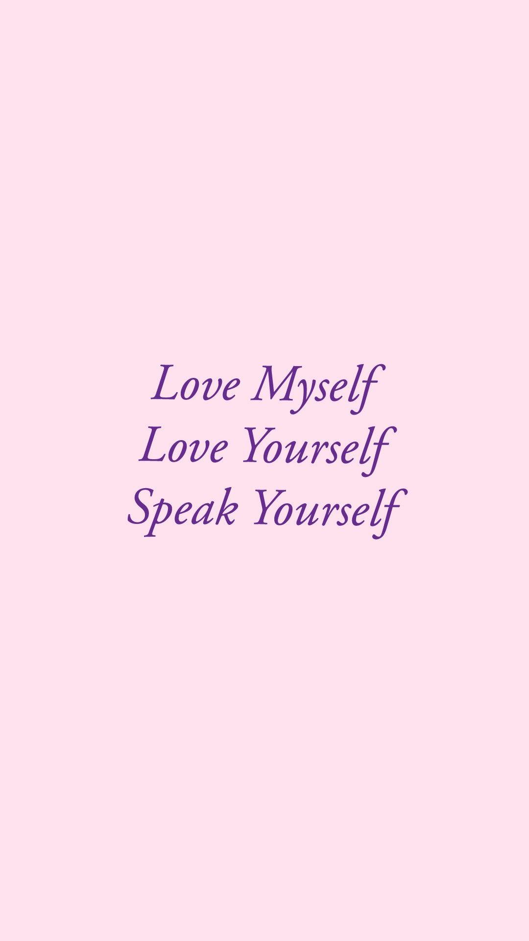 Bts Wallpaper Iphone Loveyourself In 2019 Bts Lyrics
