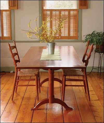 shaker dining table print plan tables pinterest tables and house rh pinterest co uk shaker dining room table plans shaker dining room sets