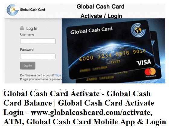 forex global cash card