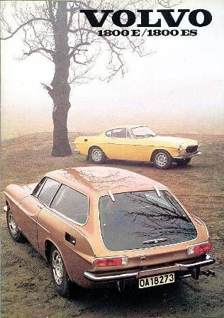 If they still made these, this would be my car.. Vintage Volvos. 1800E + 1800ES #Volvo