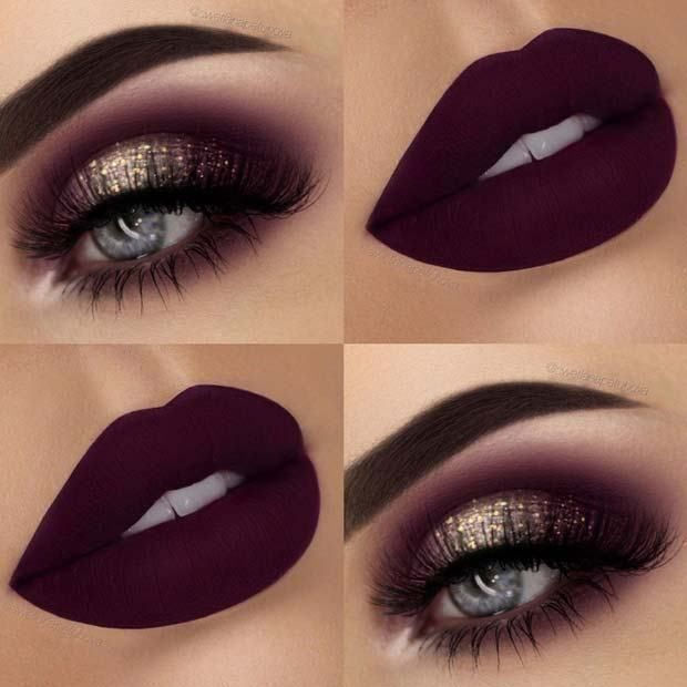 20 Pretty Glitzy Nye Makeup 2018Makeup Vadnice za-9241