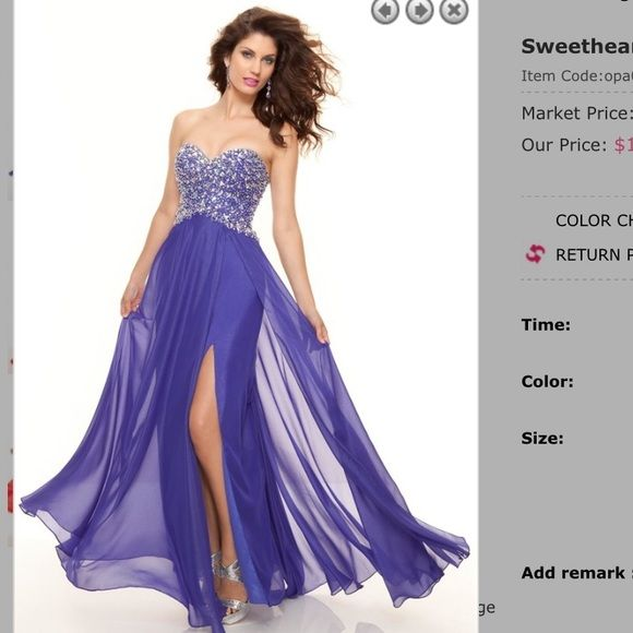 Prom Dress Ripped Off