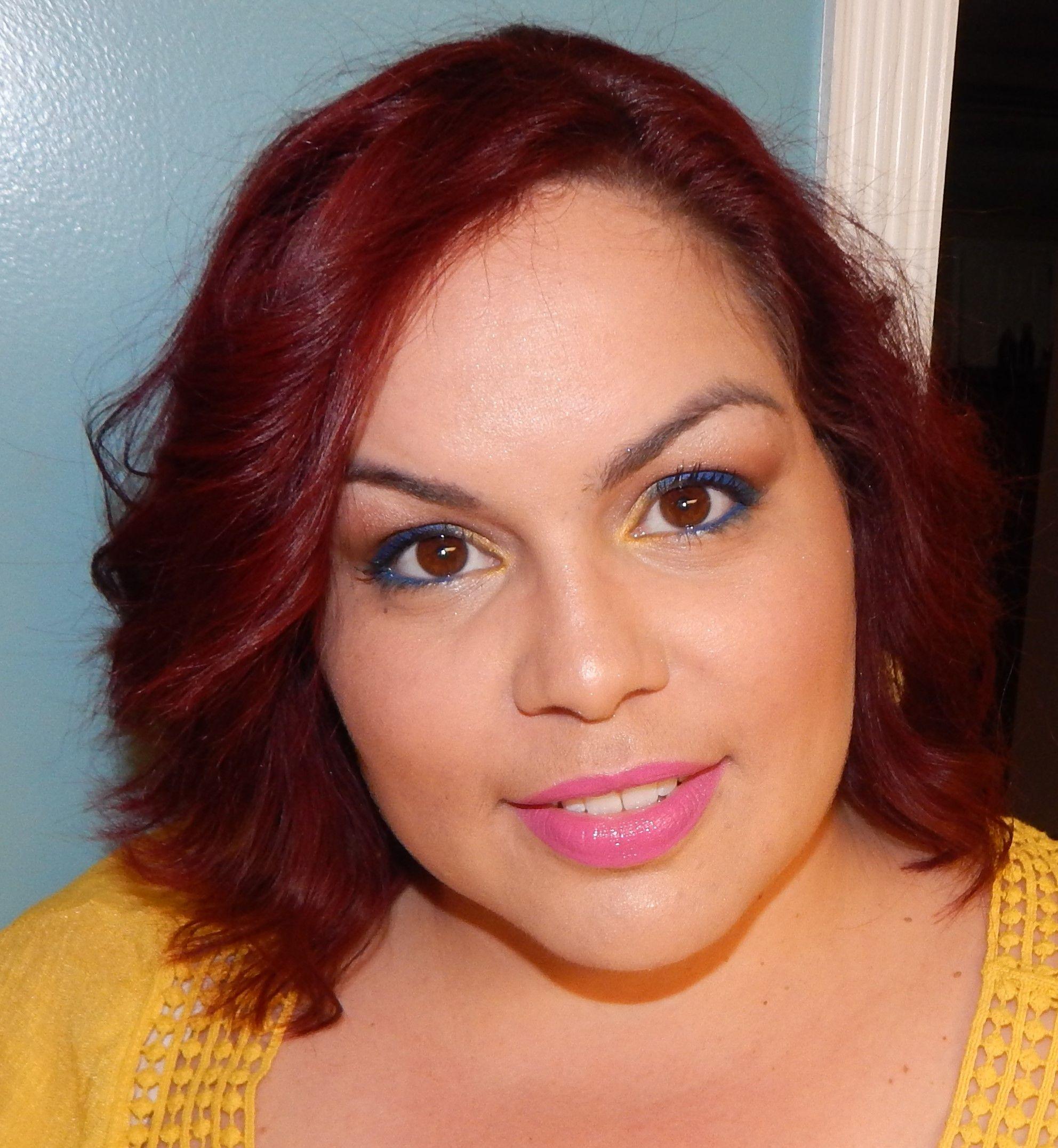 Farrah's makeup