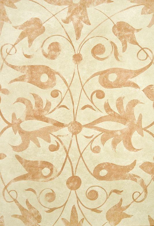 Saffron Walden Tracery Wallpaper Elizabethan inspired wallpaper with ...