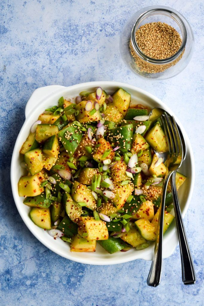 Simple Sides: Korean Cucumber Salad | Rachel Phipps ...