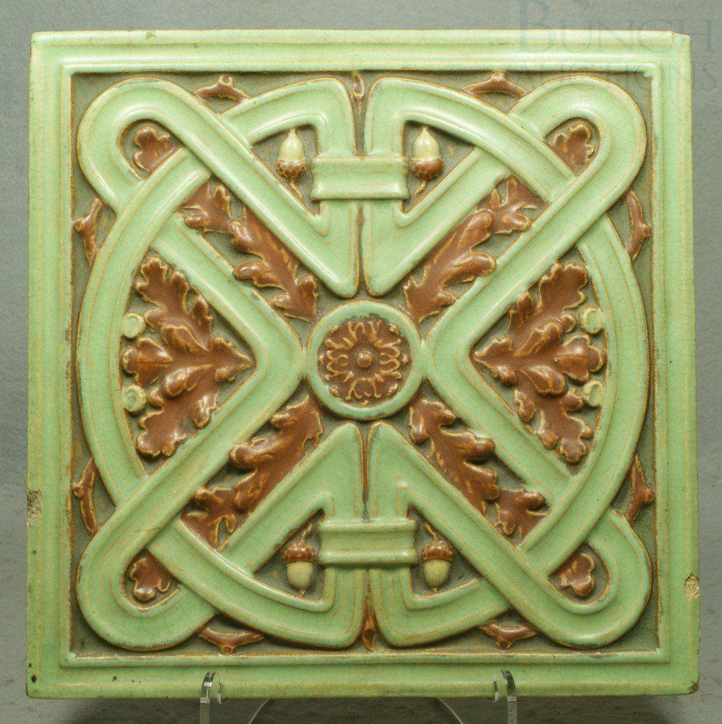 6188: American Encaustic Tiling Company tile, Zanesvill on ...