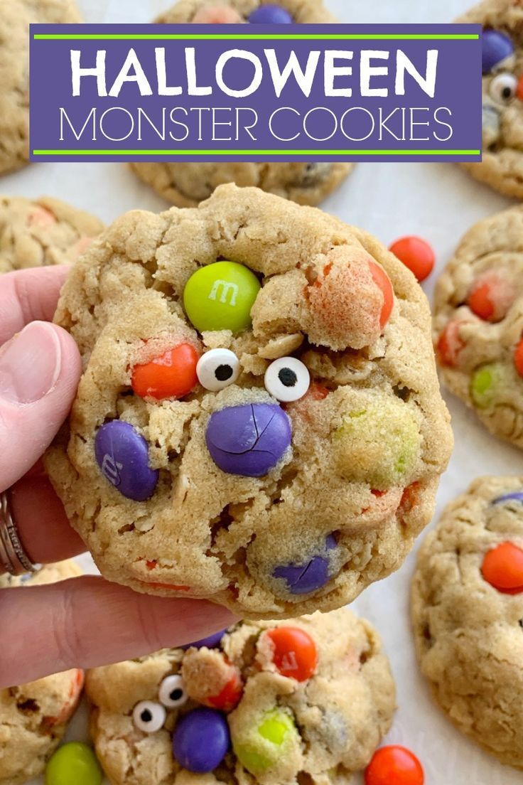 Halloween Monster Cookies   Together as Family