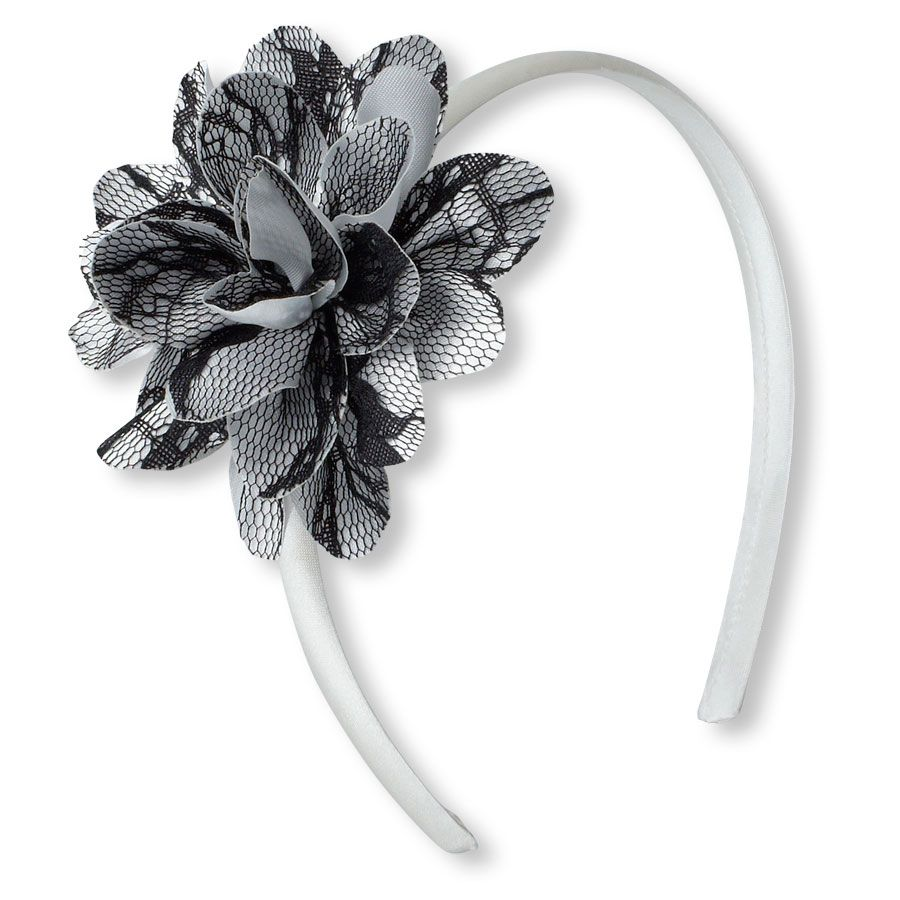 Lace flower headband Childrenus Place y  T shirt that I like