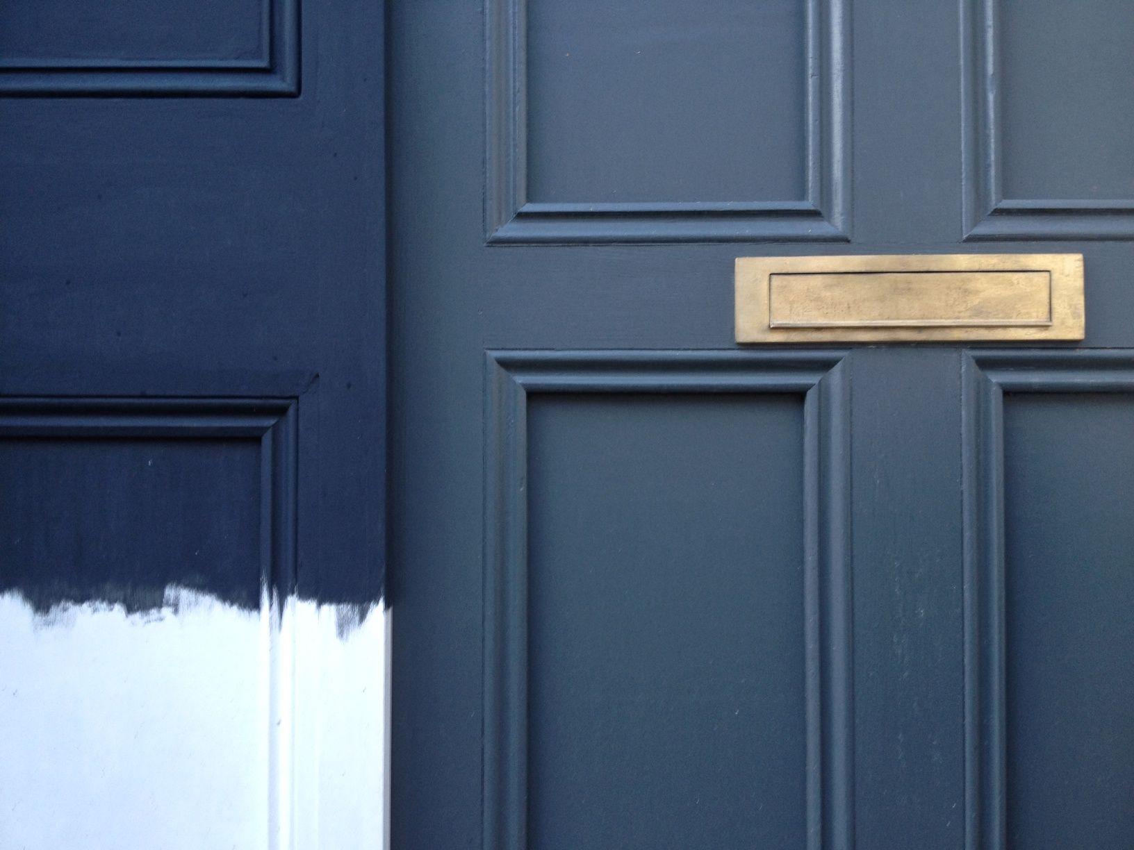 Oval Room Blue Front Door