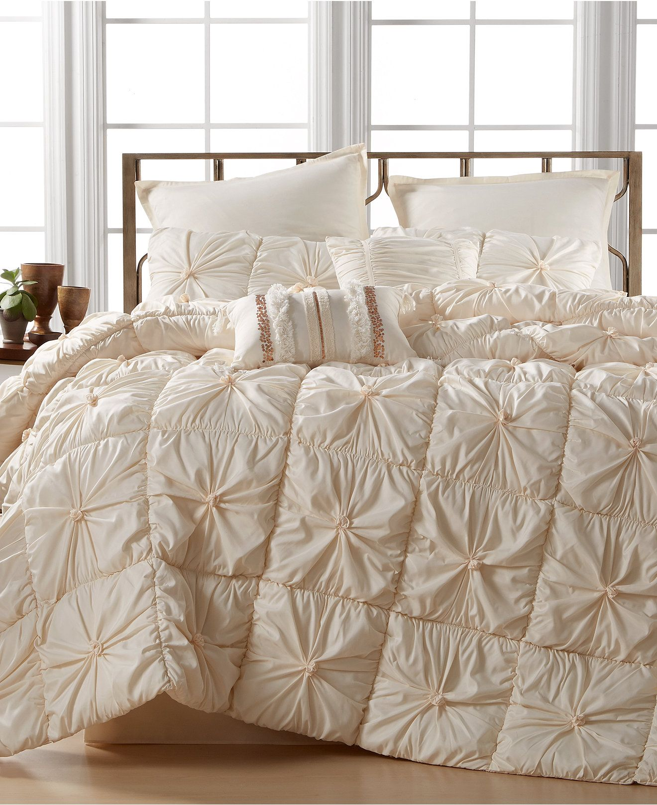 Marrakesh Tufted 8 Pc Comforter Sets Only At Macy S Bed In A Bag