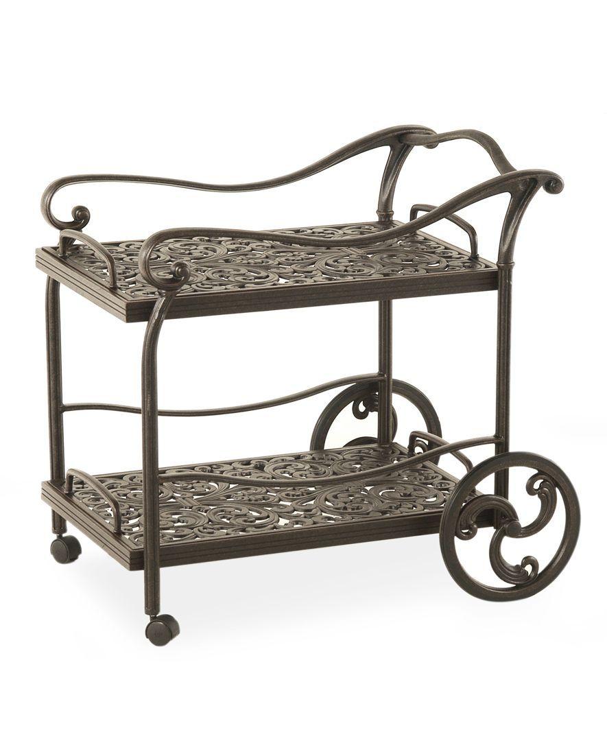 Aluminum Outdoor Serving Cart