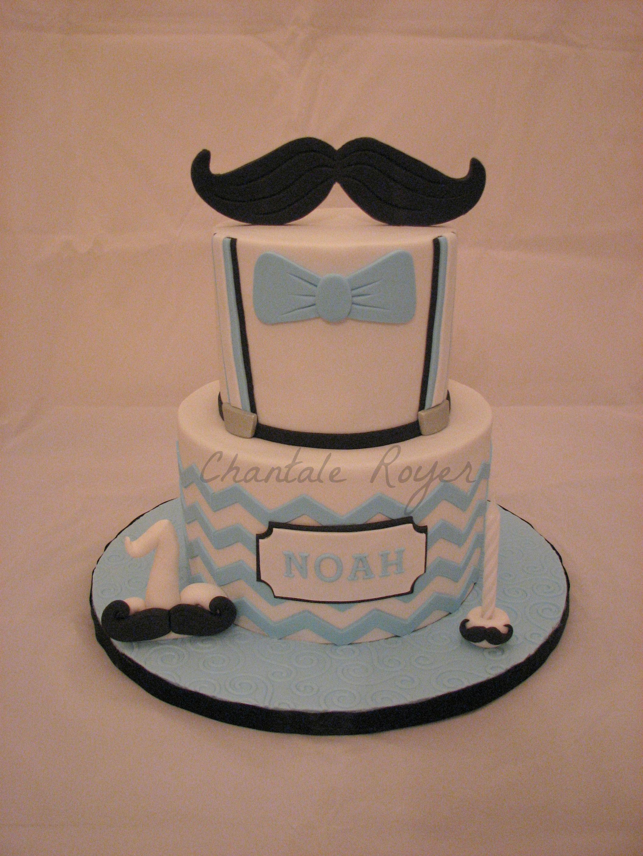 Cake mister mustache g¢teau monsieur moustache petit homme gars
