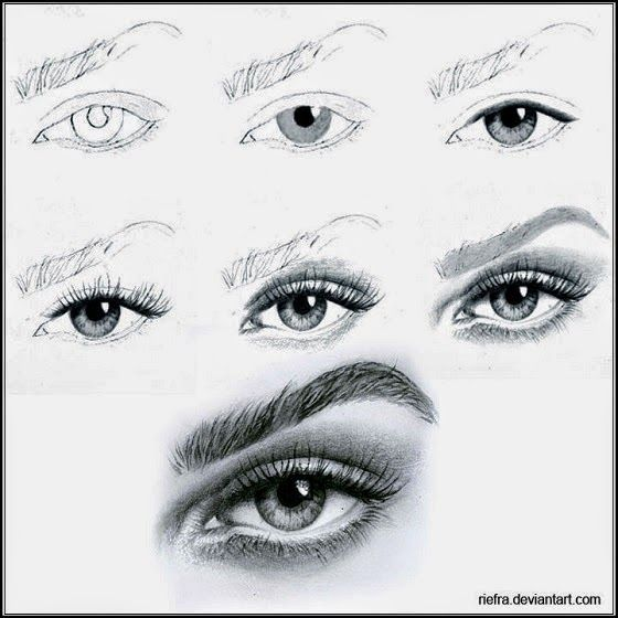 How two draw amazing eye step by step all new fine art material artand all kinds of art and drawings pics art iz my life