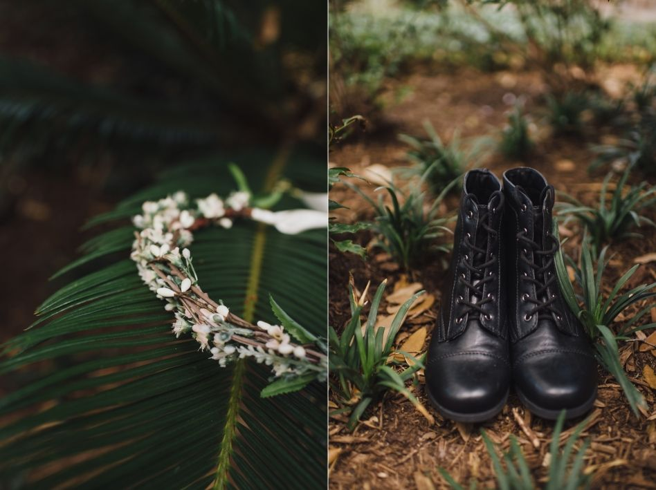 Floral crown and combat boots huntsville texas