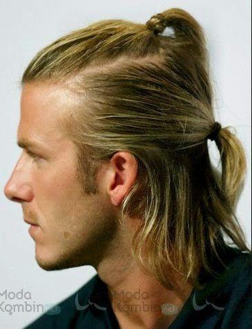 David Beckham Sac Modelleri Moda Kombin Uzun Sacli Erkek Uzun