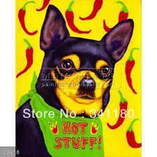 Resultado de imagen para ilustracion perro chihuahua
