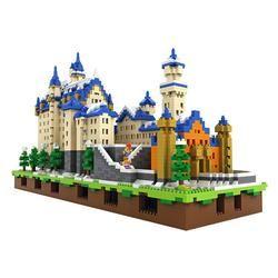 Castle Neuschwanstein Loz Diamond Blocks Loz Bricks 9049 Schloss Neuschwanstein Neuschwanstein Architektur