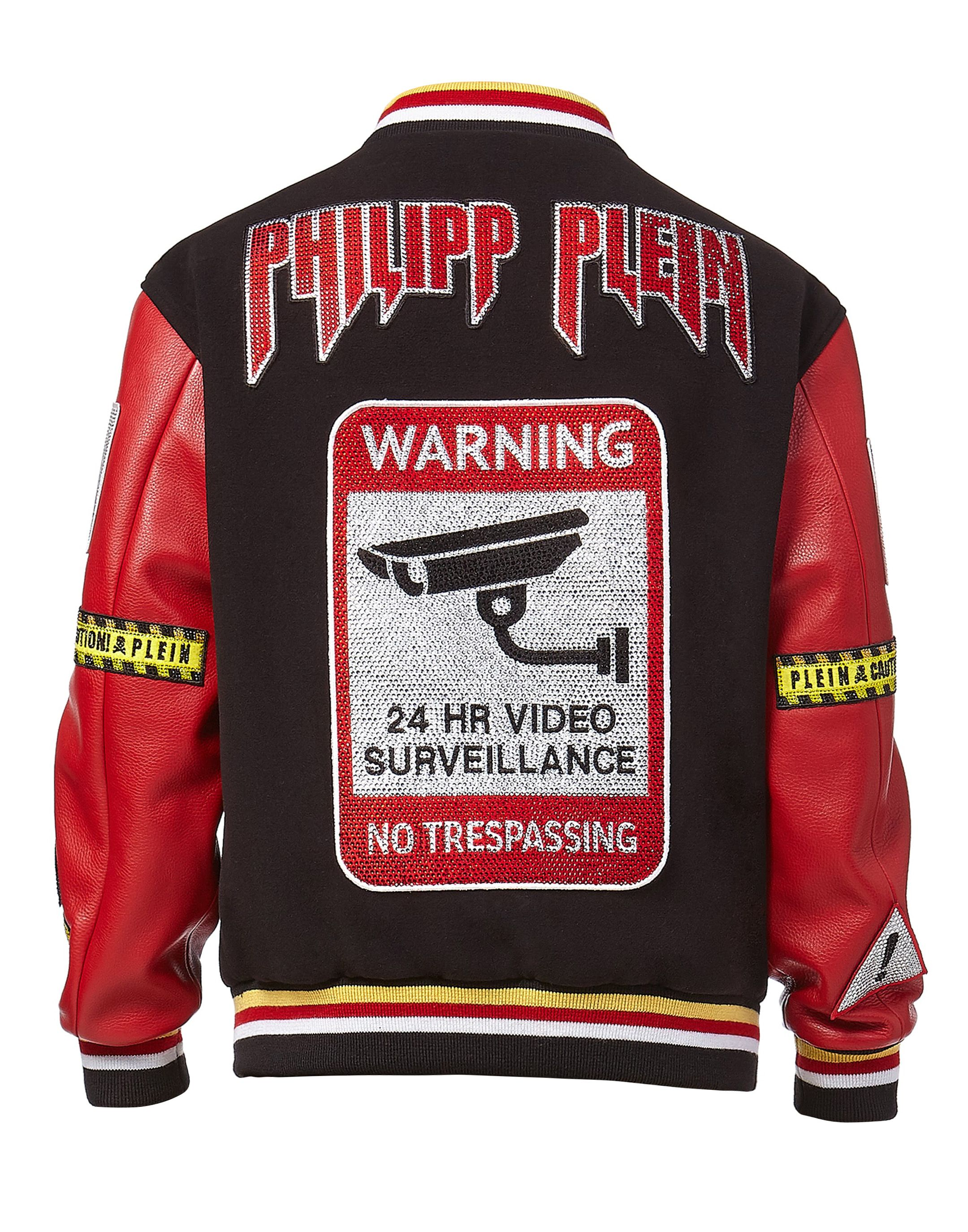 31c4e875eb Leather Bomber MM Gothic Plein | Philipp Plein | outfit inspiration ...