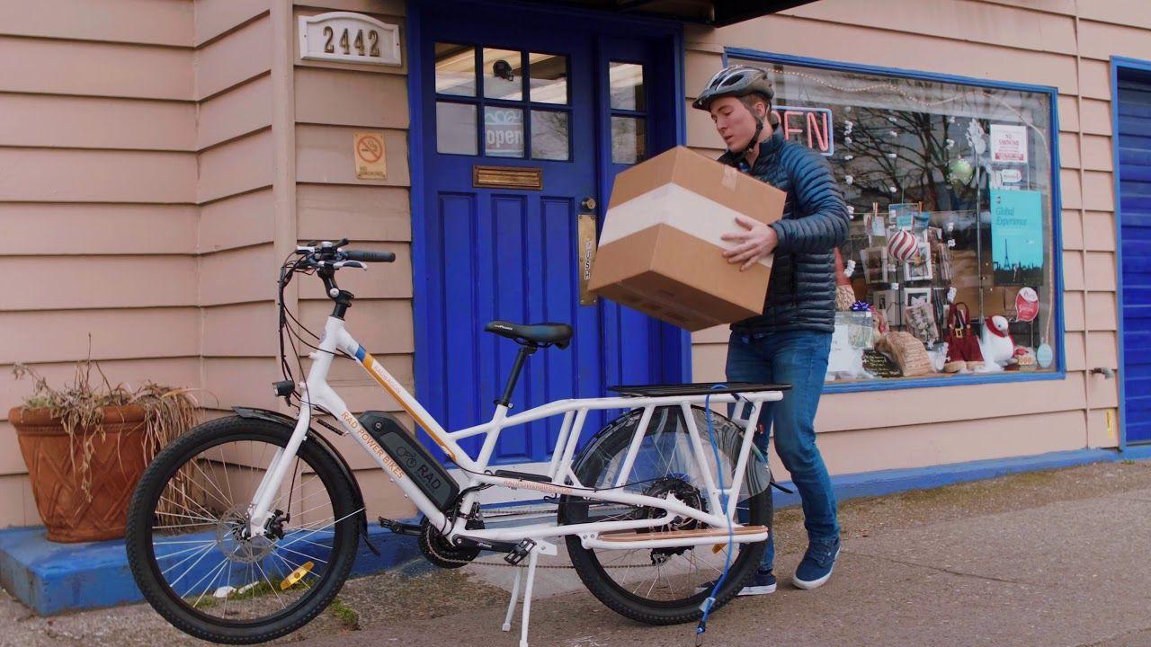 2018 radwagon electric cargo bike electric bike from rad. Black Bedroom Furniture Sets. Home Design Ideas