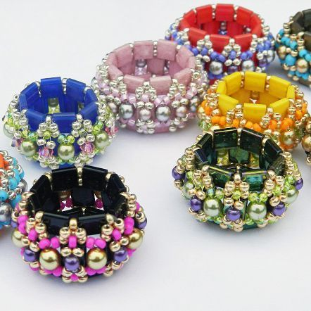 Dilly Tilly -Tila Beaded Beads | JewelryLessons.com