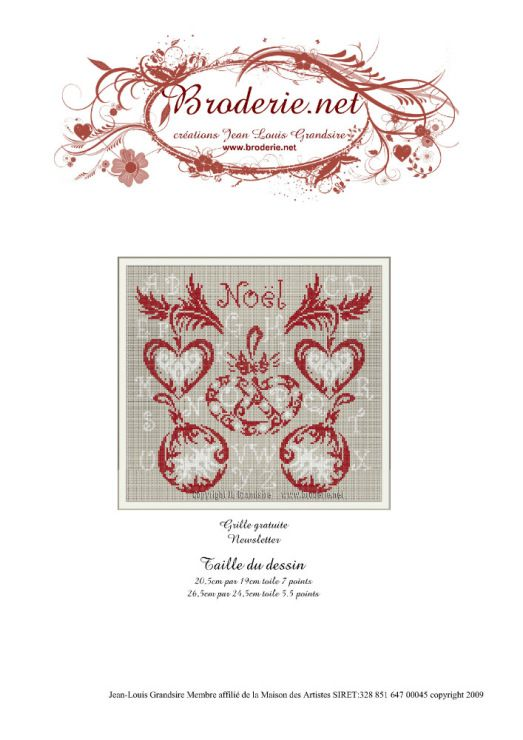 Galleryru / Фото #3 - Broderienet - 2 - Gala40 Cross Stitch - Dessiner Maison D Gratuit