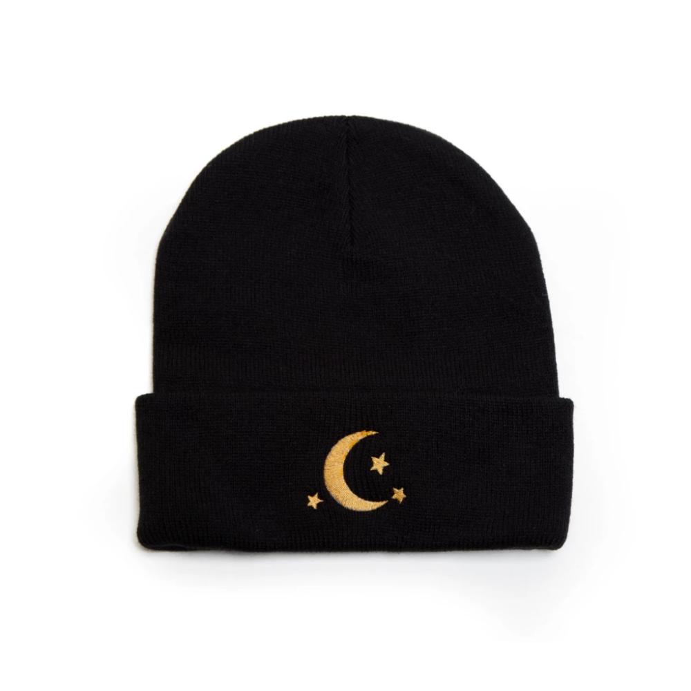 Celestial | Crescent Moon | Moon Stars | Beanie