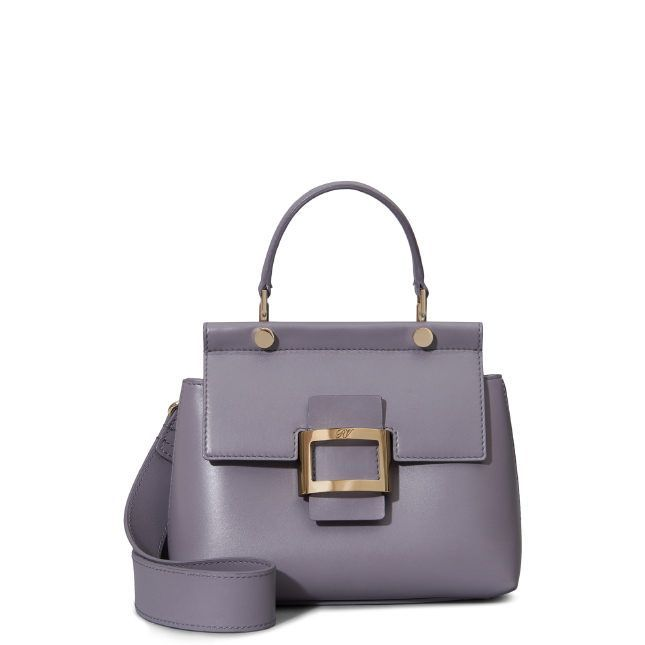 65d117ea57 ROGER VIVIER Viv  Cabas Mini In Leather.  rogervivier  bags  shoulder bags   hand bags  leather