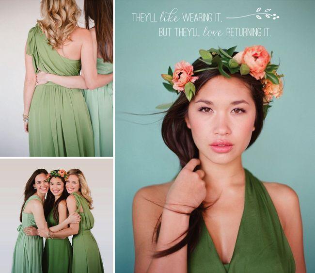 Little Borrowed Dress lets bridesmaids rent their dresses