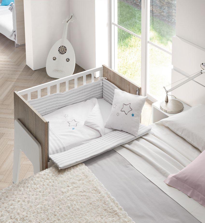 Cuna colecho mimmos by ros acoplada a la cama protector - Protector de cama ...