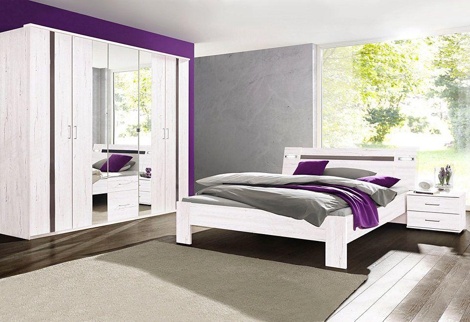 Wimex Schlafzimmer-Sparset mit Kleiderschrank (4-tlg) Jetzt - günstige komplett schlafzimmer