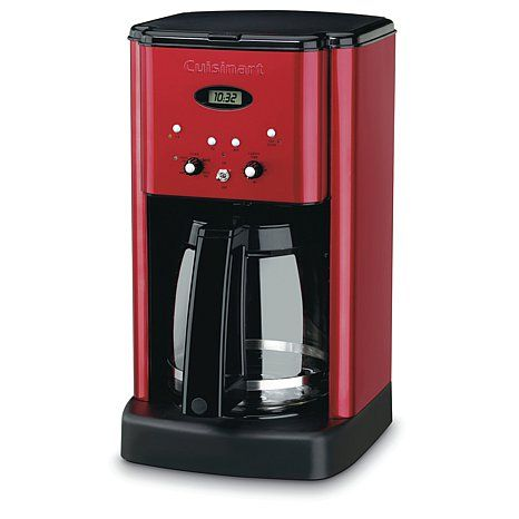 Cuisinart Brew Central Programmable Coffee Maker Red Best Coffee Maker Coffee Maker Thermal Coffee Maker