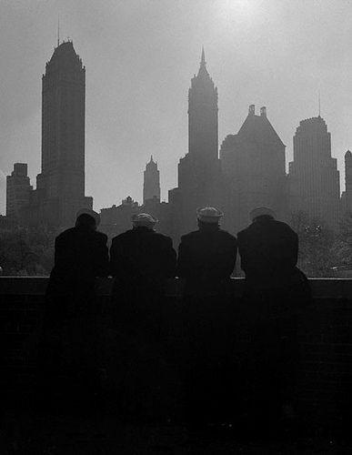 Central Park, New York, 1953, by Frank Oscar Larson | Flickr - Photo Sharing!