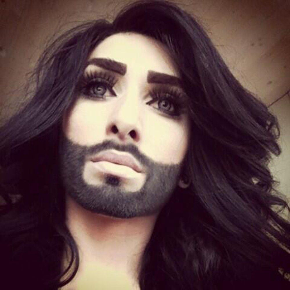 Conchita wurst and dana international in eurovision first star - Illuminati Tranny Jesus Antichrist Is Coming 2014 Published On May 2014 Conchita Wurst Shemale Winner Of Eurovision Is A Symbol For The Coming