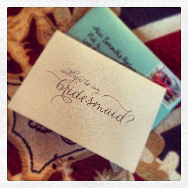 Of course!! #bridesmaid #August #excited #love #romance #bestie #bestfriend