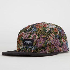 103ecdd4f SHAW PARK Brocade Mens 5 Panel Hat #shawpark #5panel #strapback #hat ...